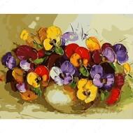 Картина по номерам Dreamtoys Цветочная палитра