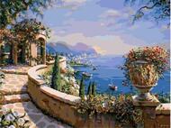 Картина по номерам Dreamtoys Цветущее побережье