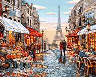 Картина по номерам Dreamtoys Эйфелева башня
