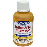 Шампунь с серой и дегтем для собак Davis Sulfur & Tar Shampoo