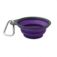 Дорожная складная миска 1440 мл Collapsible Pet Bowl