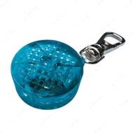 """Светящий брелок-подвеска """"Flasher"""" для собак и кошек, синий, диаметр 3,5 см"""