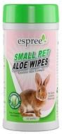Влажные салфетки для груминга мелких животных ESPREE Small Animal Wipes