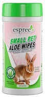 Влажные салфетки для груминга мелких животных ESPREE Small Animal Wipes