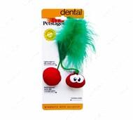 Игрушка для котов вишня Petstages Dental Cherries