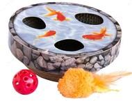 Игрушка для котов озеро с рыбками Petstages Hide & Seek Wobble Pond