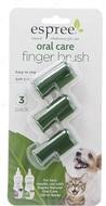 Набор из 3 щеток для ухода за зубами и полостью рта кошек и собак Oral Care Finger Brush 3 pack