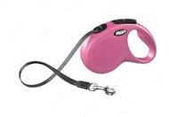 Поводок - рулетка лента 5 м до 15 кг flexi New CLASSIC Tape Leash S