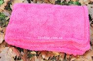 Плед из теплой махровой ткани