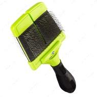 Мягкая двухсторонняя щетка для средних и крупных пород, размер L Soft Slicker Brush