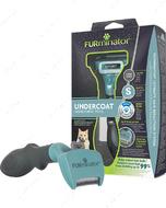 Фурминатор инструмент для вычесывания кошек c длинной шерстью FURminator DeShedding - For Long-haired Cats