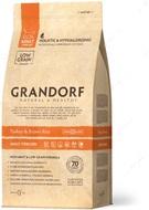 Сухой корм для стерилизованных кошек с индейкой Grandorf Turkey & Brown Rice - Adult Sterilized