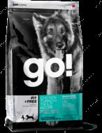 Корм для щенков и взрослых собак 4 вида мяса Fit + Free Grain Free All life Stages