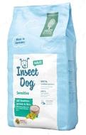 Вегетарианский корм для собак с протеином насекомых и рисом Green Petfood Insect dog Adult Sensitive