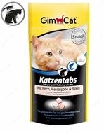 """Витамины для шерсти с рыбой, маскарпоне и биотином """"Katzentabs with fish & mascarpone"""""""
