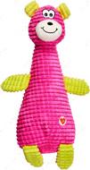Игрушка Зверушки для собак розовая GimDog FLUO FRIENDS