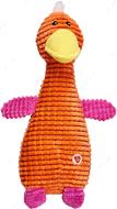 Игрушка Зверушки для собак оранжевая GimDog FLUO FRIENDS