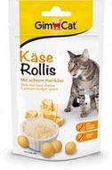 Лакомство котов с сыром GimCat Kase-Rollis