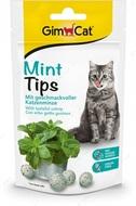 Витаминизированные лакомства для кошек с кошачьей мятой GimCat Mint Tips