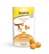 Витаминизированное лакомство для котов для сильной иммунной системы GimCat Multi-Vitamin Tabs