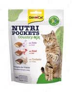 Витаминные лакомства для котов мясной микс Nutri Pockets Country Mix