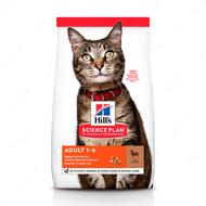 Сухой корм для взрослых кошек с ягненком и рисом Hill's Science Plan Adult