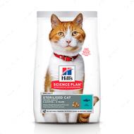 Сухой корм для взрослых кошек с тунцом Hill's Science Plan Adult Sterilised