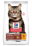 Сухой корм для выведения шерсти у домашних кошек старшего возраста с курицей 7+ Hill's Science Plan Mature