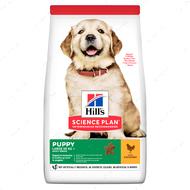 Сухой корм для щенков крупных пород с курицей Hill's Science Plan Puppy Large Breed