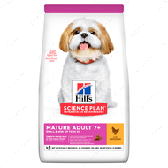 Сухой корм для собак мелких пород старшего возраста 7+ с курицей Hill's Science Plan Mature Adult Small & Mini
