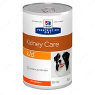 Ветеринарная диета для собак с почечной недостаточностью Hill's Wet Prescription Diet Canine k/d