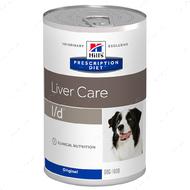 Ветеринарная диета для собак для поддержания здоровья собак с заболеваниями печени Hill's Wet Prescription Diet Canine l/d