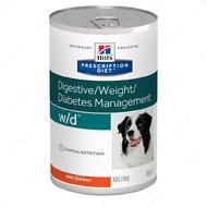 Ветеринарная диета для собак с избыточным весом и при сахарном диабете Hill's Wet Prescription Diet Canine Hill's Prescription Diet w/d