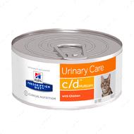 Ветеринарная диета для кошек поддержание здоровья мочевыводящих путей с курицей Hill's Wet Prescription Diet Feline c/d Multicare
