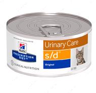 Ветеринарная диета для кошек при мочекаменной болезни Hill's Wet Prescription Diet Feline s/d