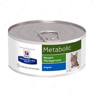 Ветеринарная диета для кошек коррекция веса при ожирении Hill's Wet Prescription Diet Metabolic