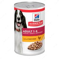 Влажный корм для взрослых собак с курицей Hills Science Plan Adult Canine with Chicken