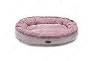 Овальный лежак розовый Donut Soft Touch Pink