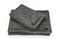 Плед серо-черный Fur Blanket Graphite