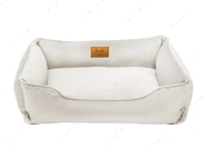 Лежак для кошек и собак Dreamer Velur White Vanila