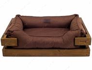 Лежак для кошек и собак Dreamer Nature + Brown