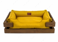 Лежак для кошек и собак Dreamer Nature + Mustard