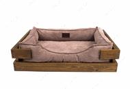 Лежак для кошек и собак Dreamer Nature + Cacao Velvet