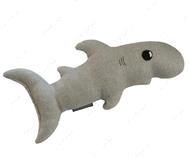 Игрушка для собак и кошек акула-каракула Gray