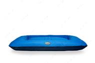 Влагостойкий двухсторонний лежак-понтон темно-синий с голубым Lounger Denim+Blue Waterproof