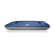 Влагостойкий двухсторонний лежак-понтон темно-синий с серым Lounger Denim+Gray Waterproof