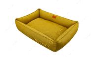 Лежак для собаки Sofa Mustard, горчичный