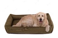 Лежак для собаки Sofa Olive, оливковый