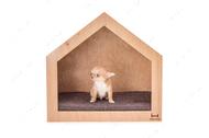 Домик-будка Natural Shelter натуральный
