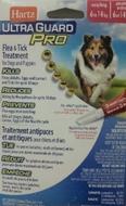 Капли от блох,блошиных яиц, личинок, клещей, комаров для собак от 6 до 14 кг защита на 30 дней Hartz Ultra Guard Pro Flea&Tick Drops for Dogs and Puppies  5 в 1